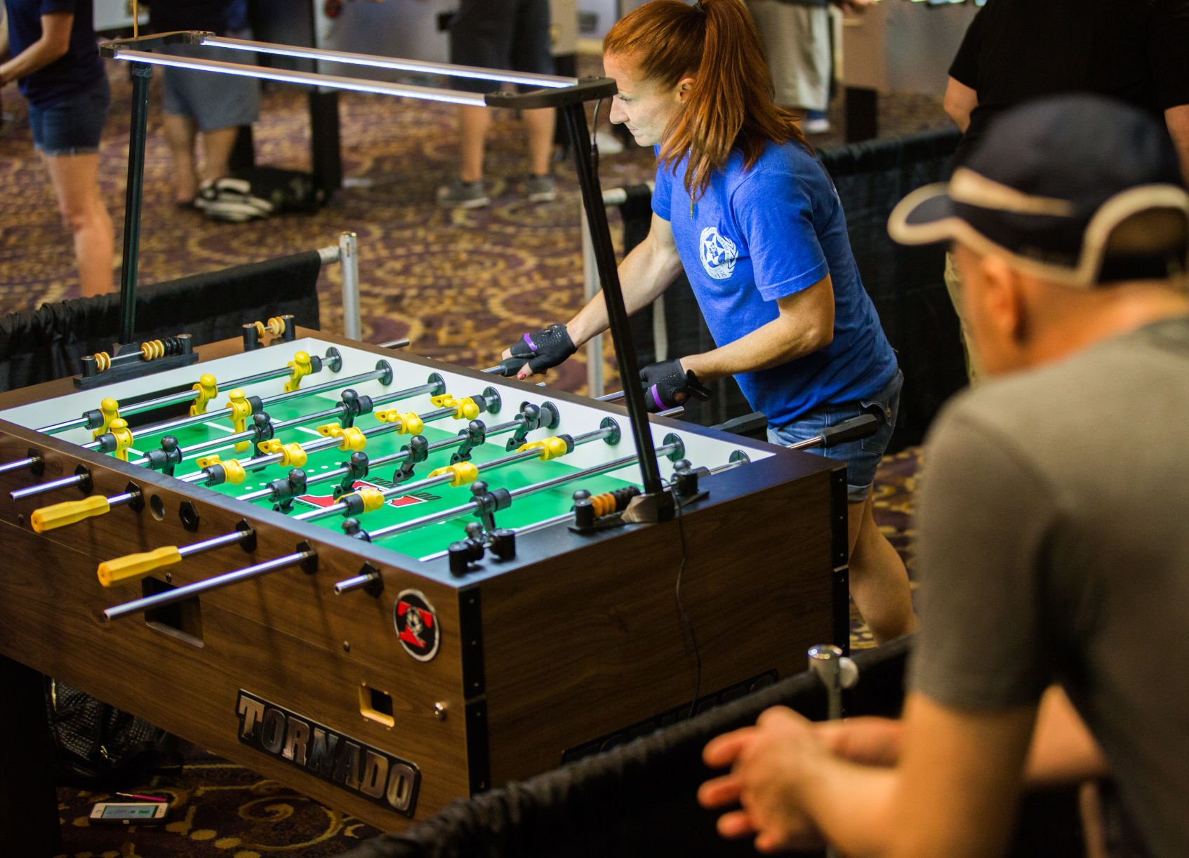 foosball is still kickin with a big return among fans who fell in rh theadvocate com