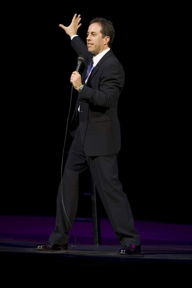 Jerry Seinfeld to headline Baton Rouge River Center Theatre in November _lowres