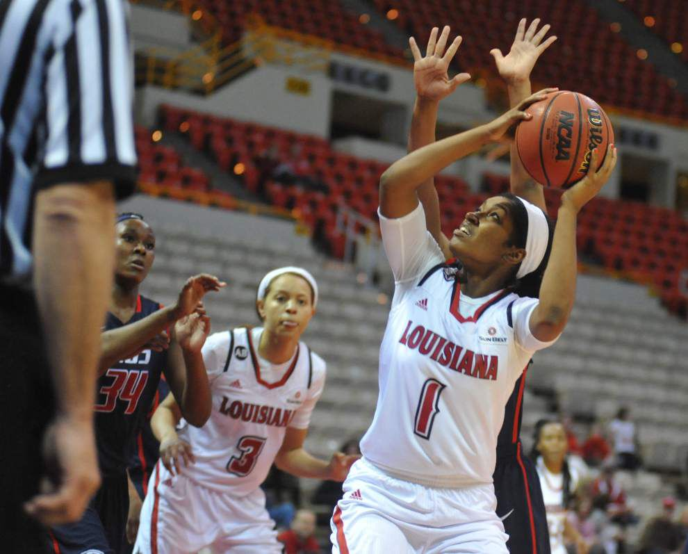 Extra effort lifts Cajuns women past South Alabama _lowres