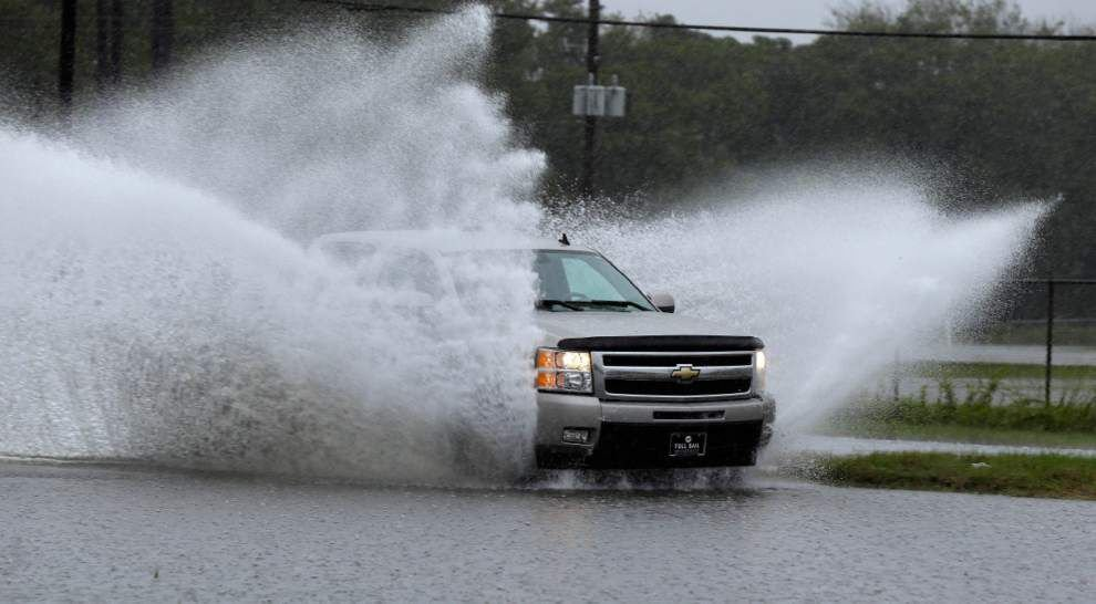 'We were advised to leave': South Carolina flooding affecting Gamecocks ahead of game against LSU _lowres