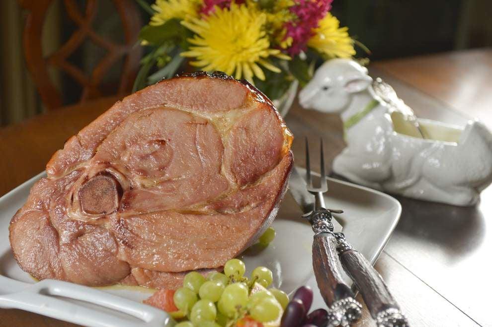 Ham With Spicy Fruit Glaze _lowres