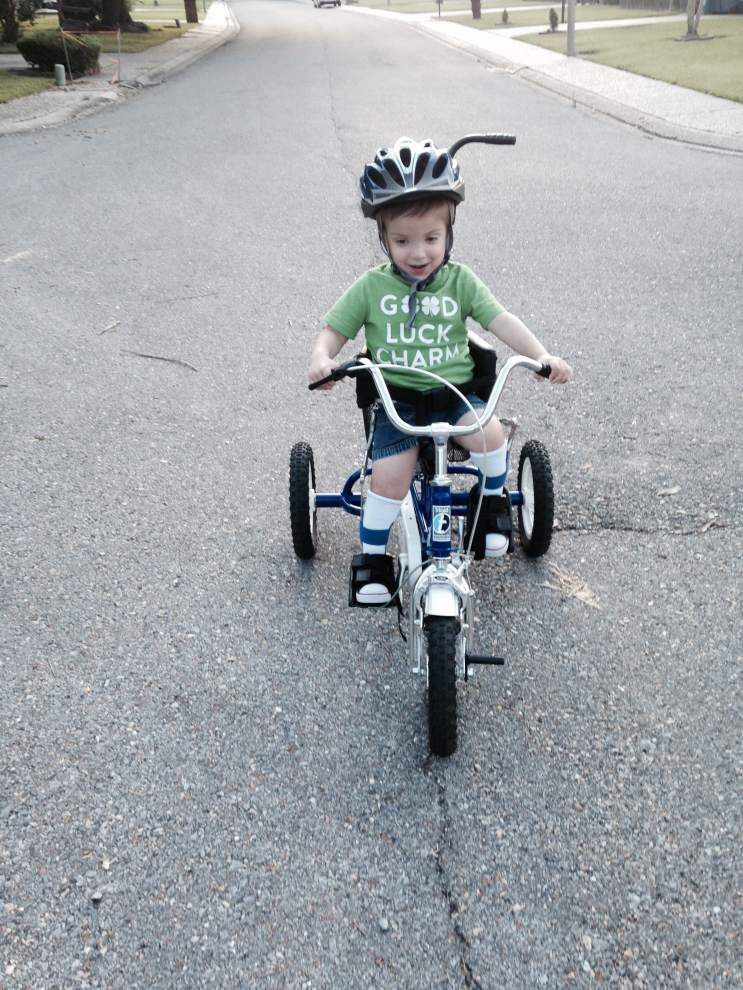 Baton Rouge-based McLindon Family Foundation provides special bikes for special kids _lowres
