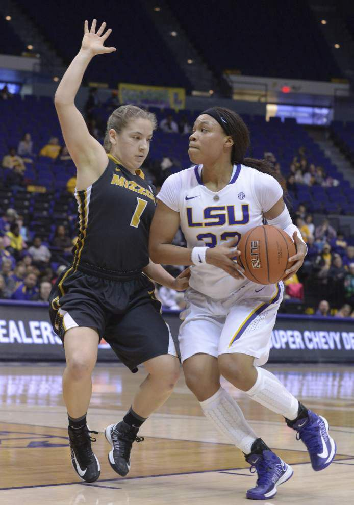 LSU star guard Danielle Ballard suspended indefinitely _lowres