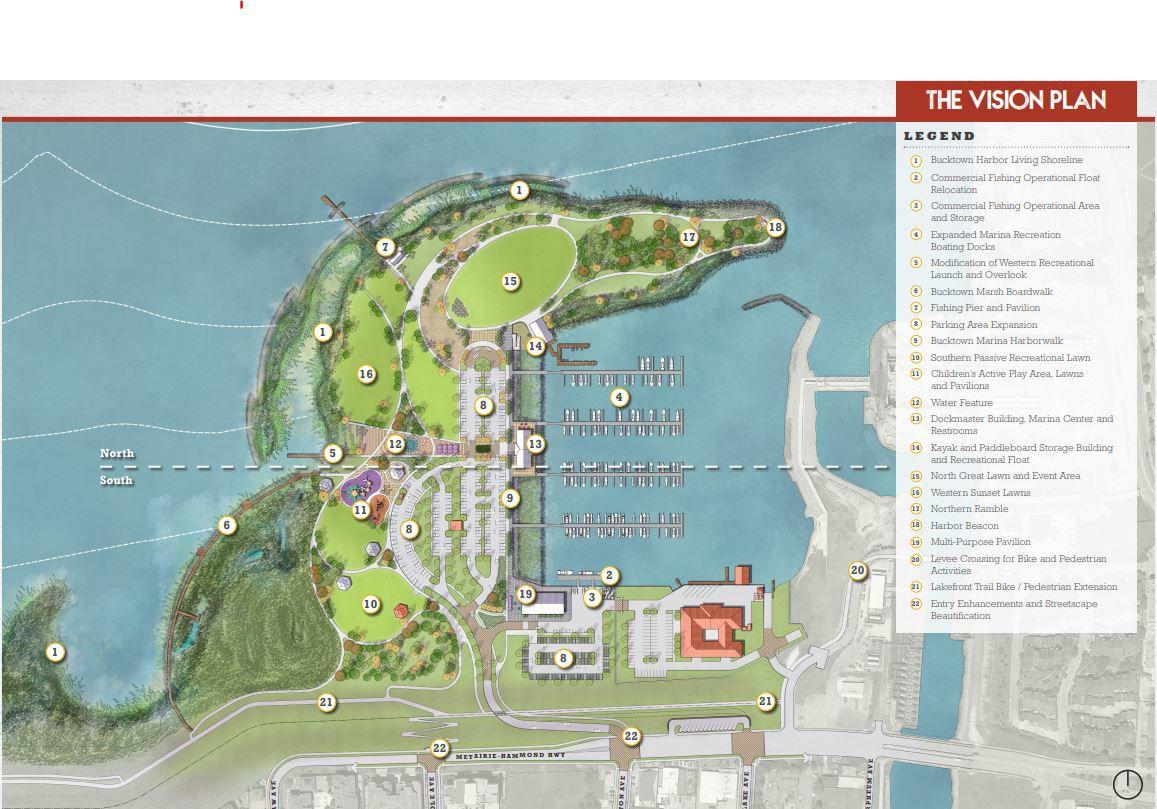 Bucktown Harbor Schematic