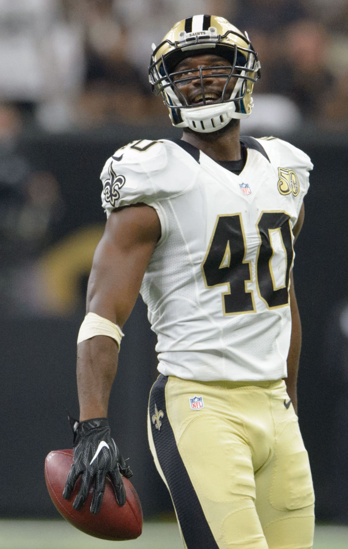 Saints Delvin Breaux Andrus Peat back at practice