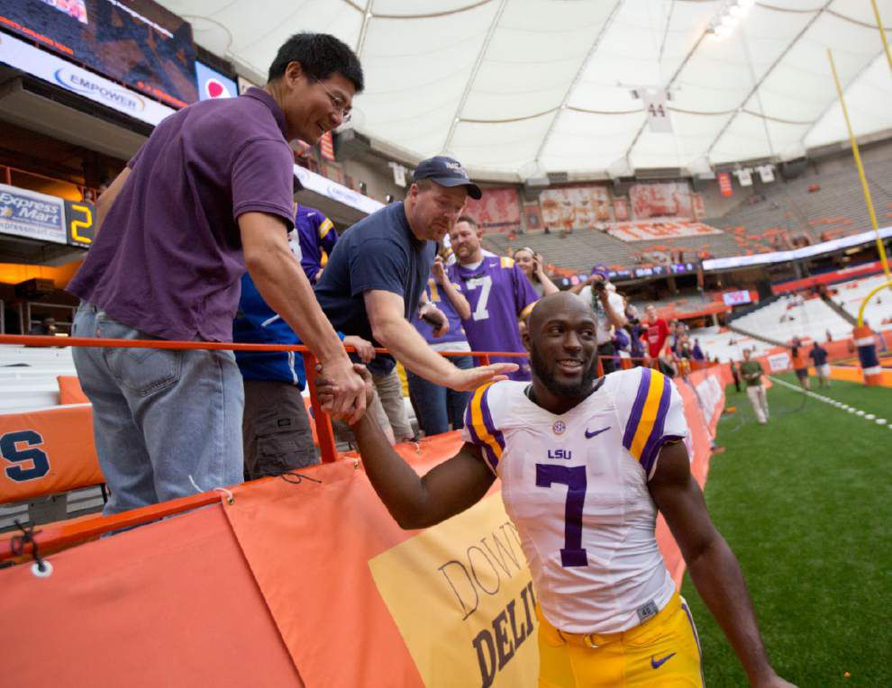 Wednesdays with Les: Miles wants Leonard Fournette to 'have fun with his college' _lowres