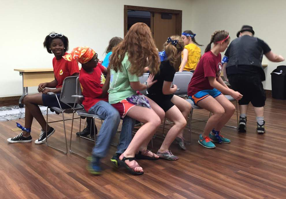Teens take on 'Hunger Games' challenge at library _lowres
