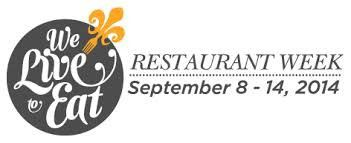 "Five steals for ""We Live to Eat"" restaurant week_lowres"
