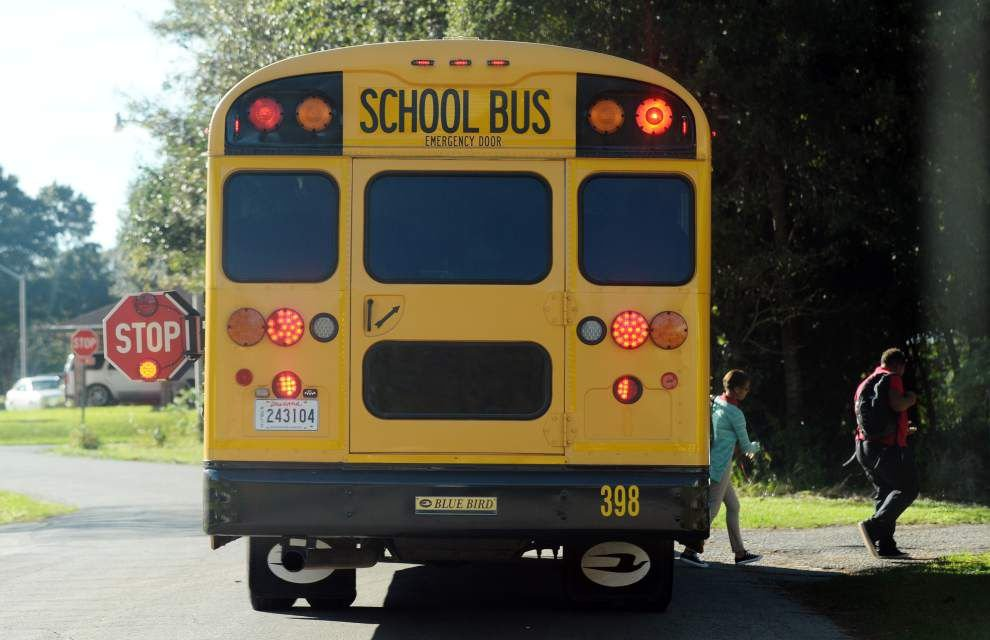 Two firms pitch cameras for Lafayette school buses to capture images of motorists violating law _lowres