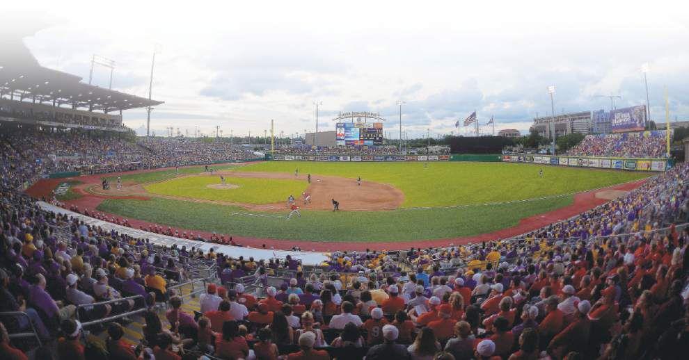 LSU baseball dominates national attendance rankings; UL-Lafayette ranked 11th _lowres