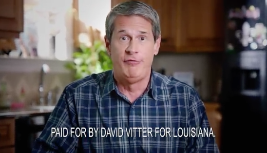 David Vitter addresses prostitution scandal - indirectly - in new ad_lowres