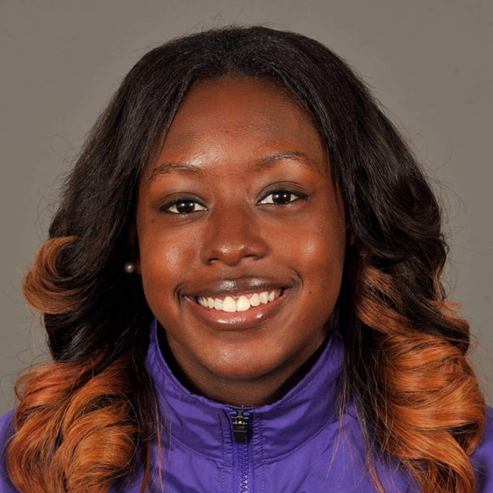 LSU's Mikiah Brisco named SEC indoor track women's runner of the year _lowres