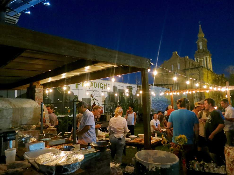 At a chefs' urban farm, a new concert series for digging in and getting down _lowres