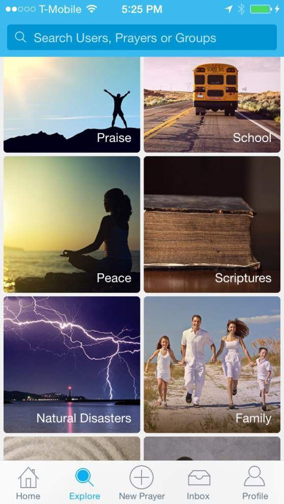 Facets of Faith: New app called Instapray will help you find someone to pray with _lowres