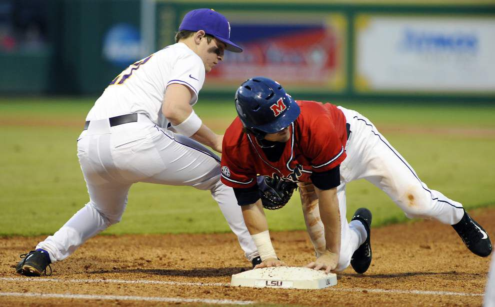 Jared Poché gets redemption as LSU downs Ole Miss 6-4 in SEC opener _lowres