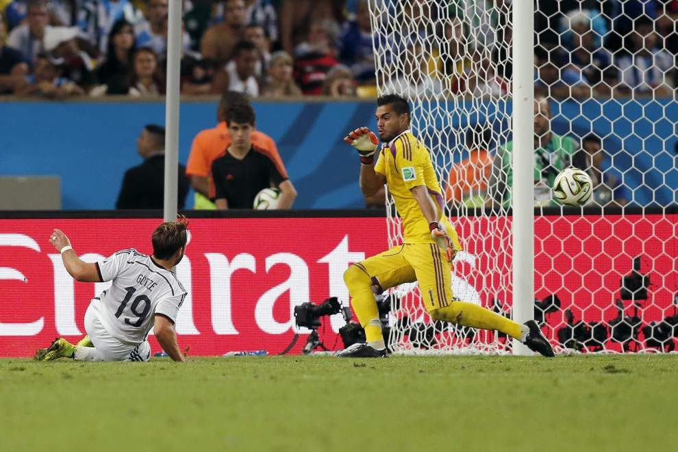 Mario Goetze scores late to give Germany the World Cup _lowres