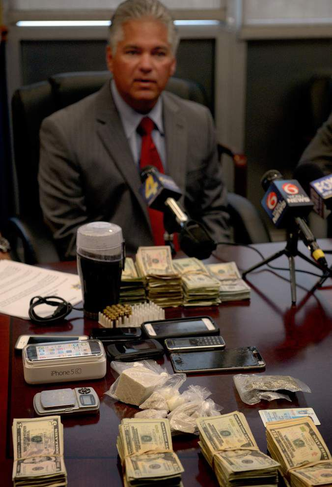 Six arrested in large St. Bernard Parish heroin bust _lowres