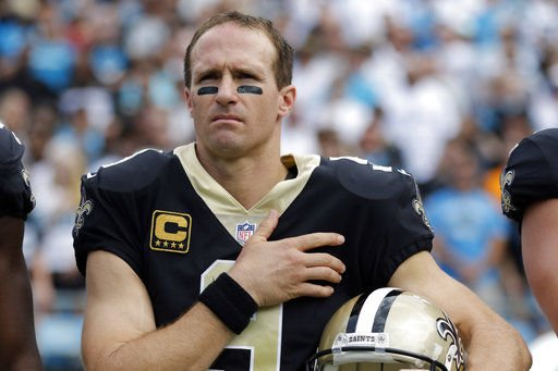 NFL's Drew Brees: Saints will kneel, then stand for national anthem