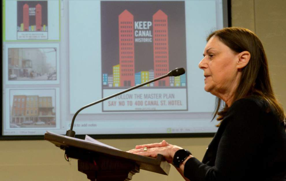 Planners oppose proposed hotel tower at Canal and Tchoupitoulas _lowres