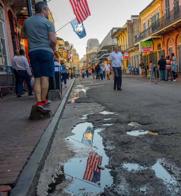 Stretch Of Bourbon Street To Be Torn Up Rebuilt For First