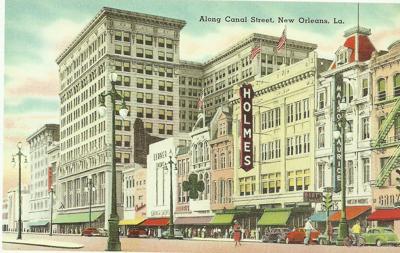 Canal Street postcard