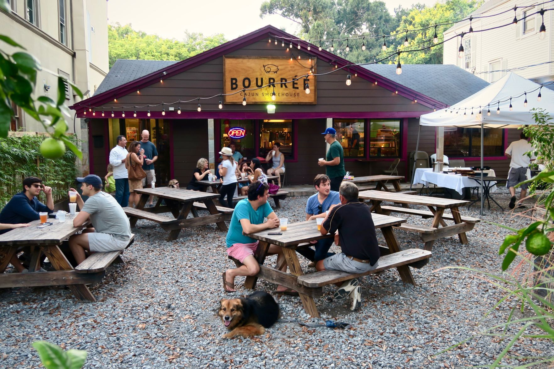 Advocate Staff Photo By Ian McNulty   The One Time Parking Lot Of Bourree  At Boucherie In New Orleans Has Been Converted To A Patio And Beer Garden  For ...