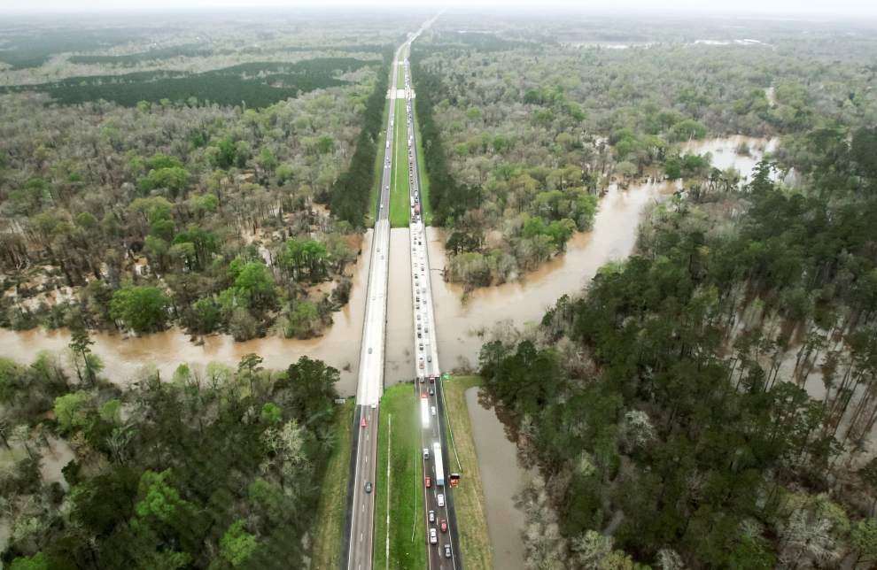 Photos, videos: North shore flooding, rescues Saturday in Louisiana _lowres