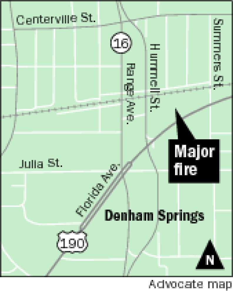 Photos: Magnolia Respiratory fire in Denham Springs _lowres