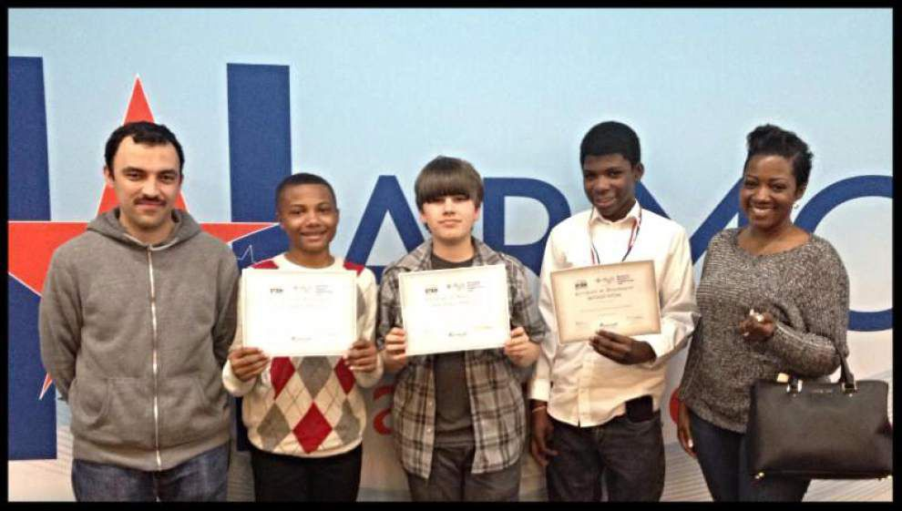 Students honored for science fair projects _lowres