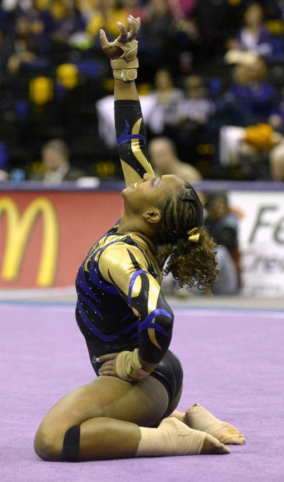 Video: CBS News on LSU's Lloimincia Hall, not your 'typical' gymnast; Says Hall: 'So what? Let's have some fun' _lowres