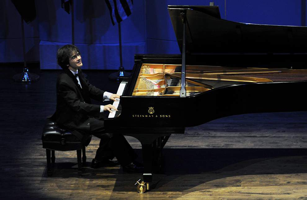 New Orleans piano competition showcases world's top young players _lowres