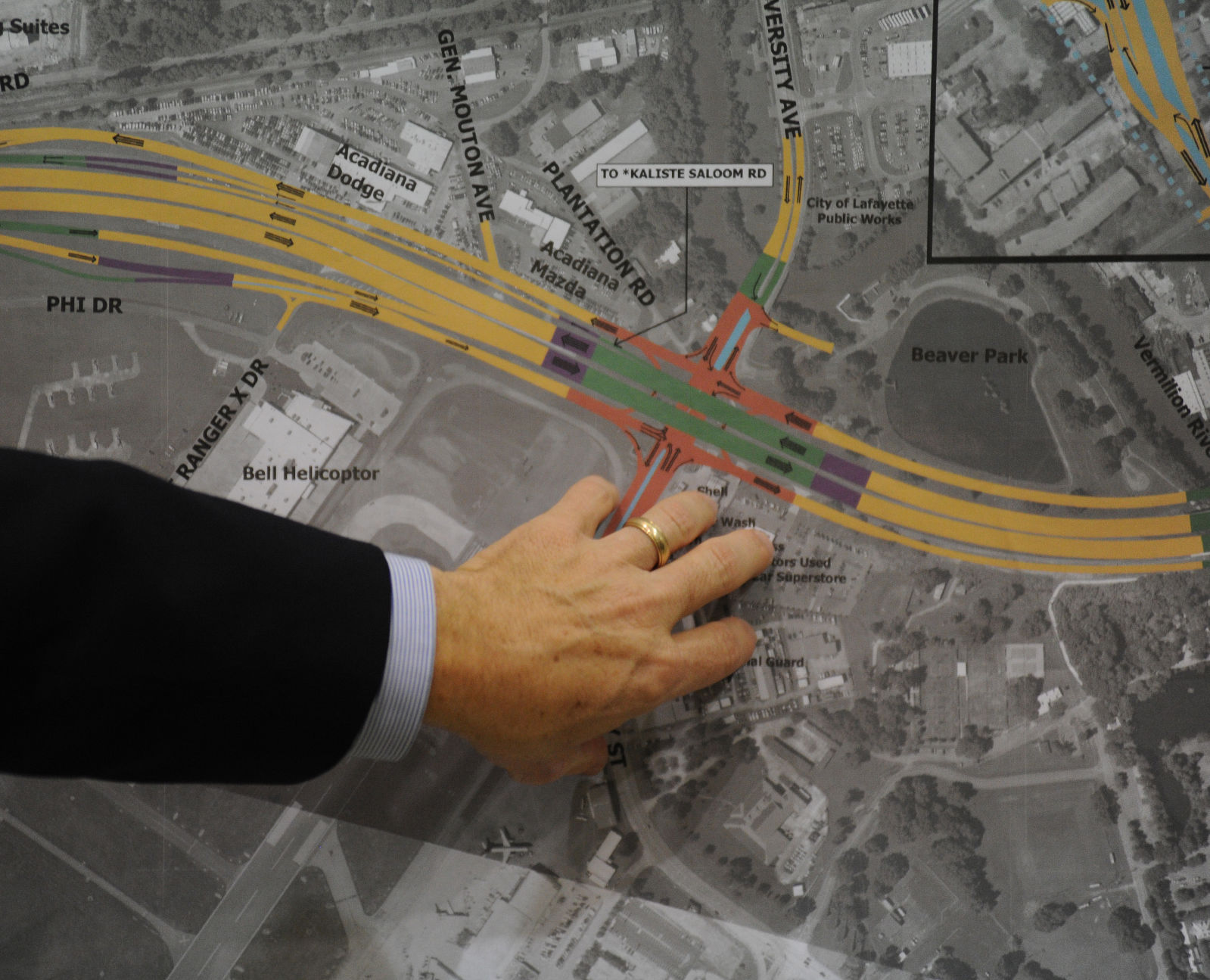 Lafayette interstate project inches forward though questions