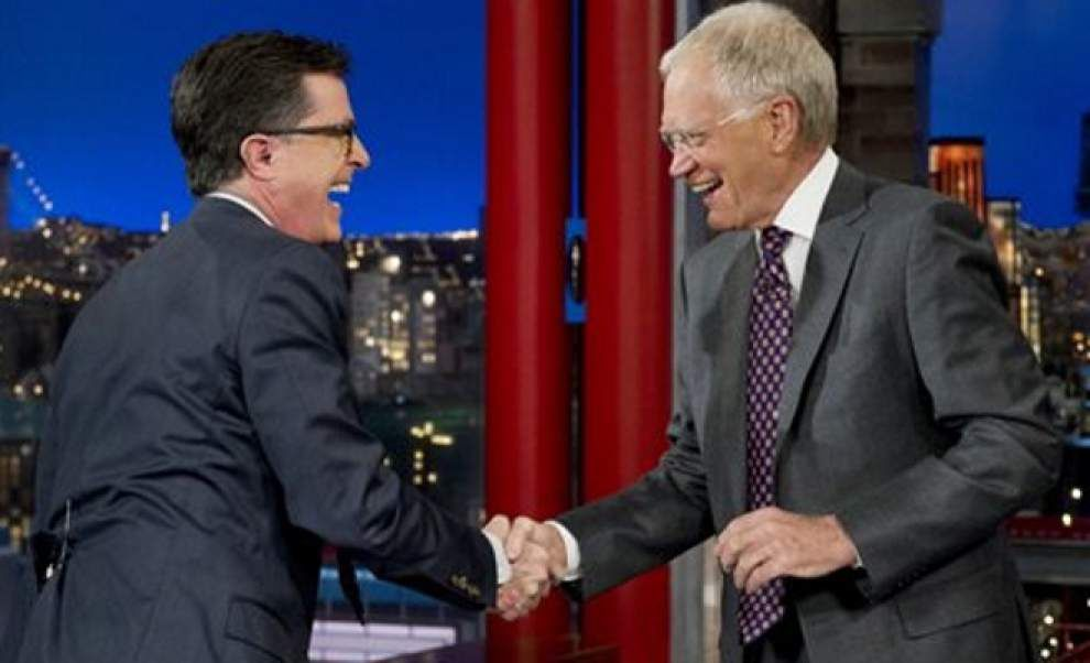 Letterman nominated for humor prize _lowres