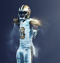 a5b64a2df3f New Orleans Saints  color rush jerseys voted best uniform by fans in ...