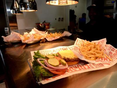 Premium Fresh Juicy Better Burgers With A Variety Of Toppings Make For