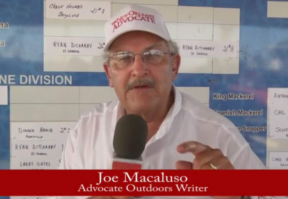 Video: Joe Macaluso's wrap up of first day of Grand Isle Tarpon Rodeo _lowres