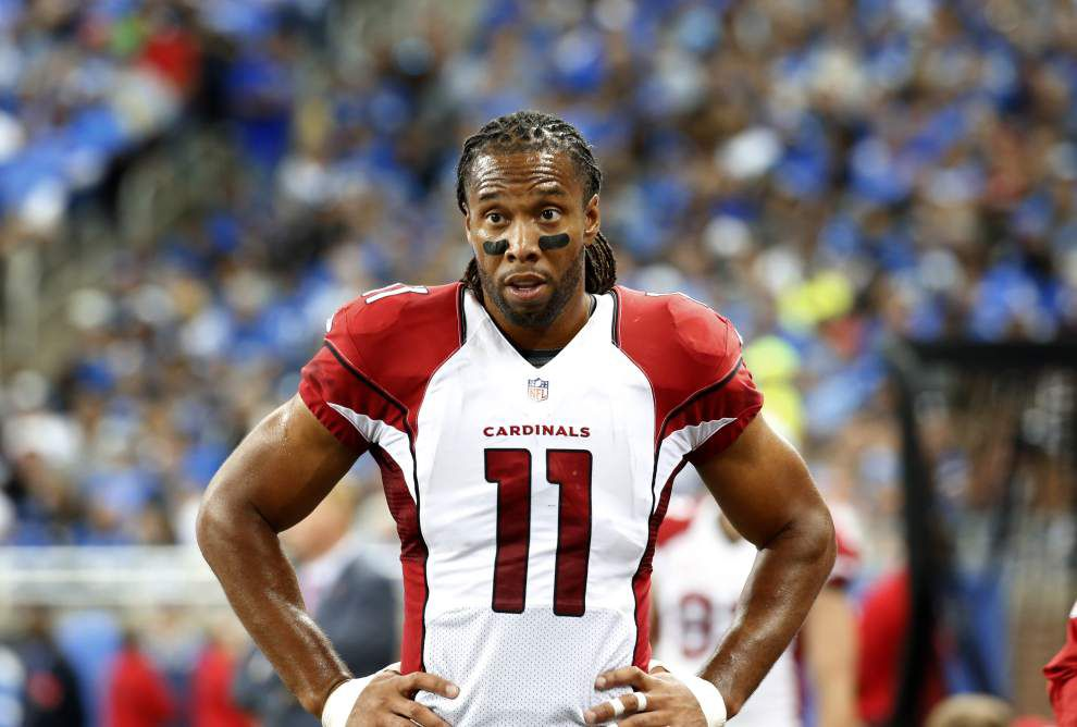 NFL star Larry Fitzgerald's advice to newbies: Be like former LSU Tigers Patrick Peterson, Tyrann Mathieu _lowres