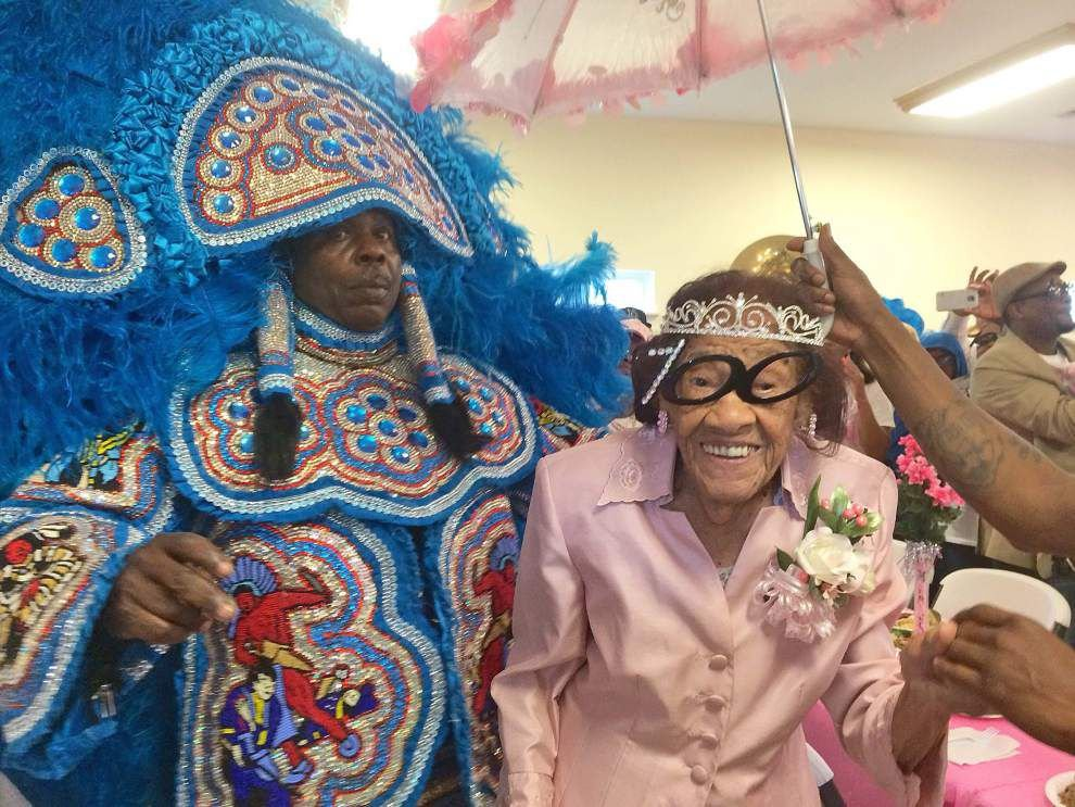 New Orleans East church celebrates resident's 100th birthday _lowres