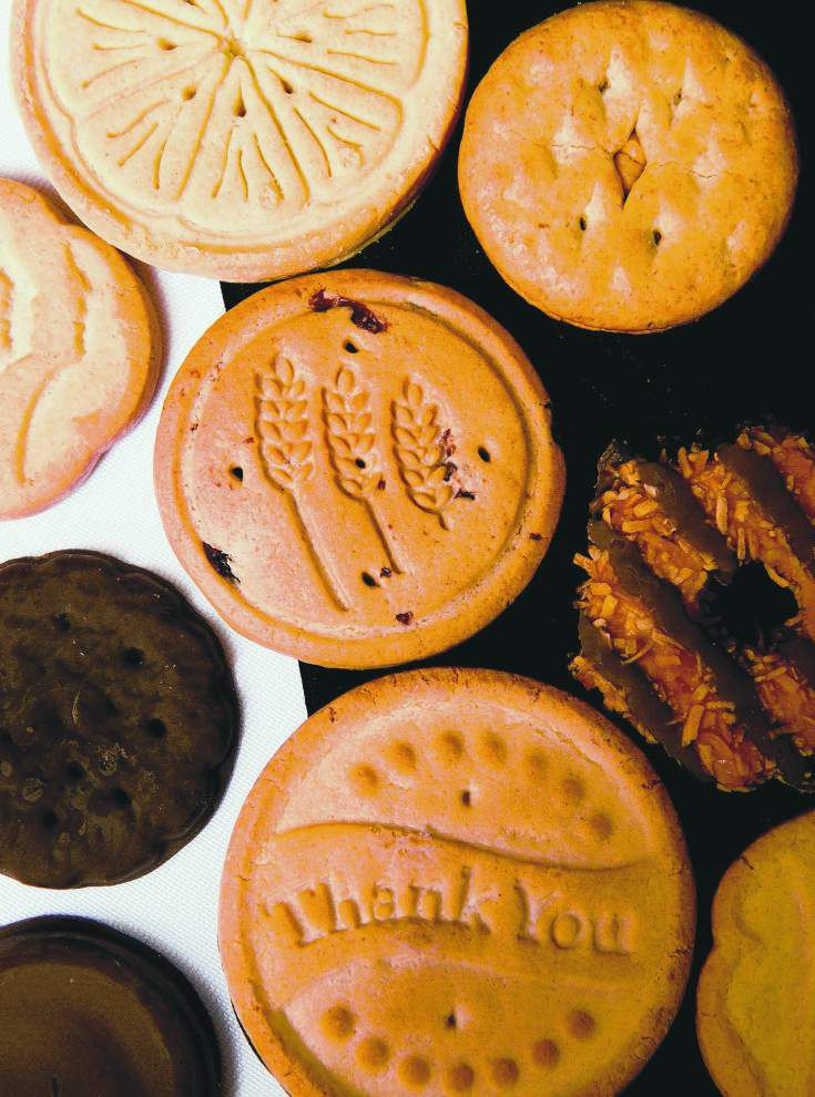 Sweet sales tactics: Girl Scouts learn the ropes of the cookie business _lowres