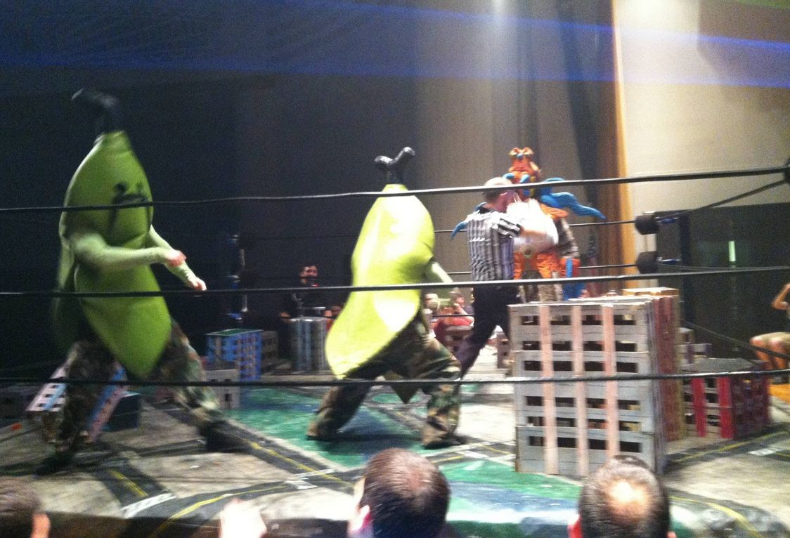 Notes from WrestleMania weekend: Kaiju Big Battel and SHIMMER_lowres