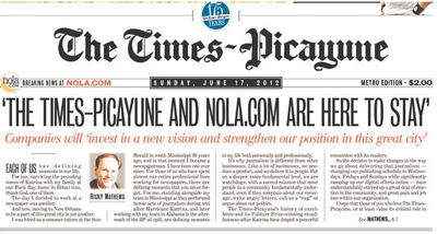 More staff cuts ahead for NOLA.com | The Times-Picayune_lowres
