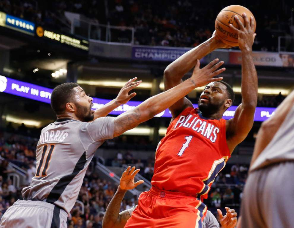 Pelicans lose without star forward Anthony Davis 74-72 at Suns _lowres