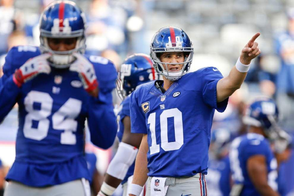 Gameday: Can the Saints keep it rolling against Eli, OBJ and the Giants? _lowres