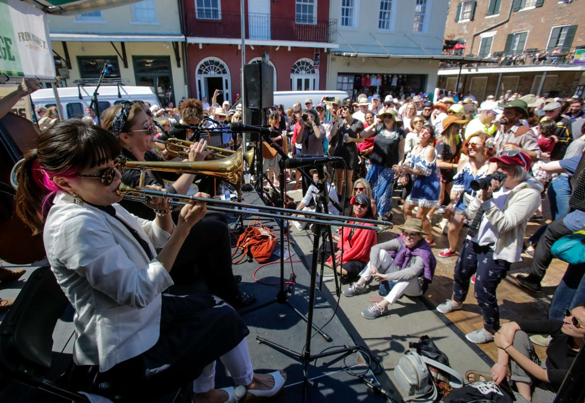 French Quarter Jazz Festival 2020 French Quarter Fest moves dates — now just four days apart from