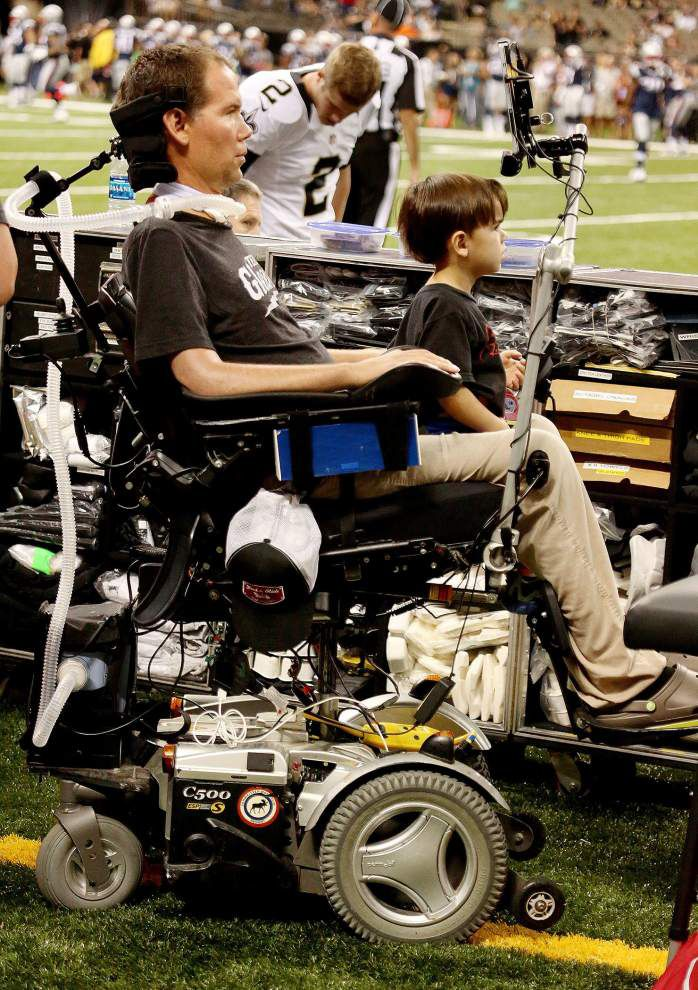 Steve Gleason letter to New Orleans: 'Like the residents of a city built two feet below sea level, I choose to be an idealist' _lowres