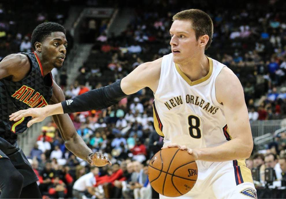 Pelicans forward Luke Babbitt said he'll return to the court soon, 'It's just a matter of time. I'm not trying to rush it, though' _lowres
