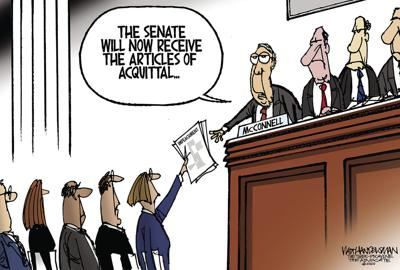 Walt Handelsman: Senate Impeachment Trial