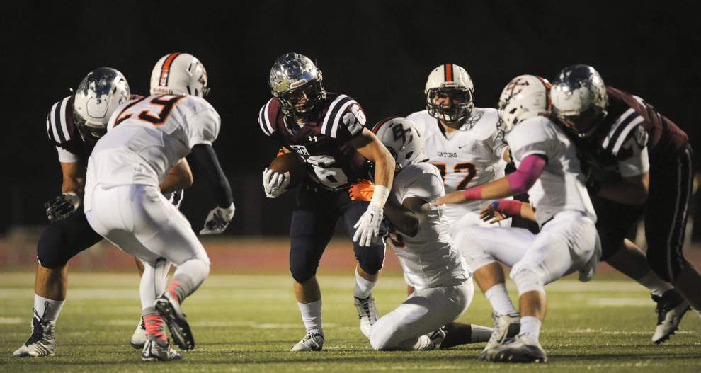 St. Thomas More's defense sets table for offense in rout of Beau Chene _lowres