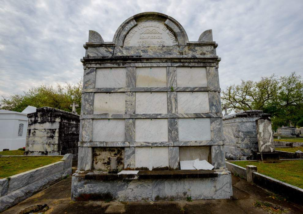 Grave responsibility: New Orleans tomb repair expert won't rest til it's done right _lowres