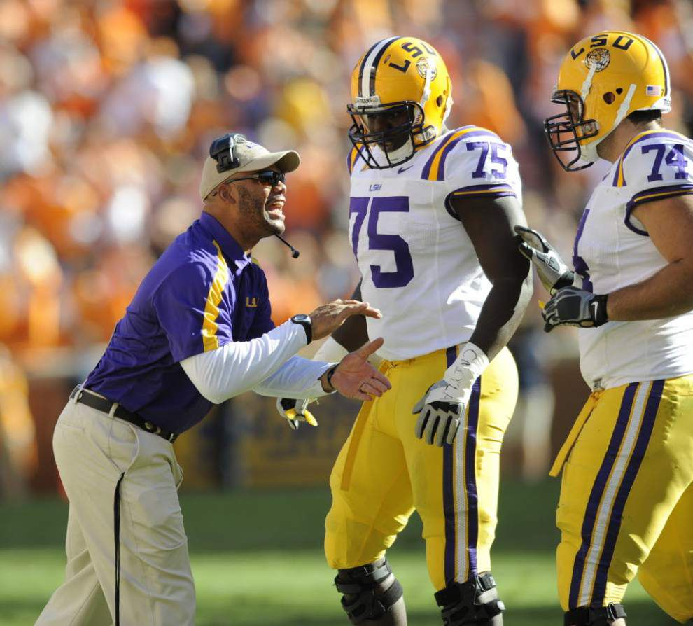 LSU confirms that Thomas McGaughey leaves for job with the Jets _lowres